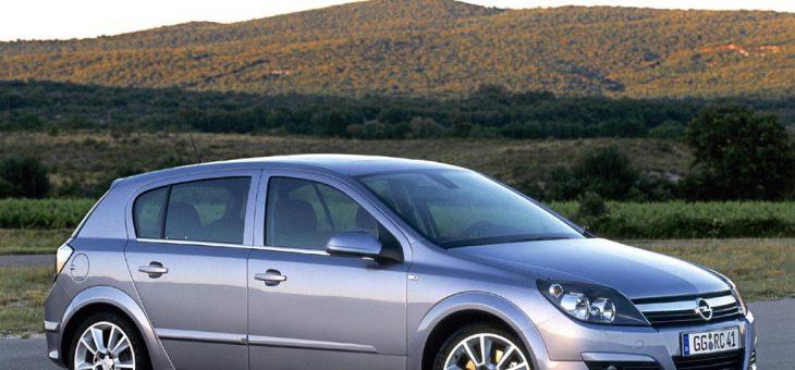 Opel Astra H (2004-2010) tutti i dati e tutte le informazioni