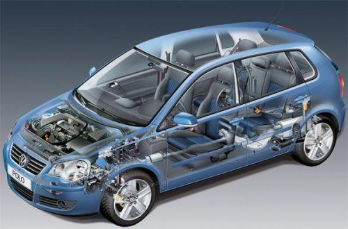 VW Polo 9N 2001-2009 sotto la copertura del motore DIESEL BENZINA!