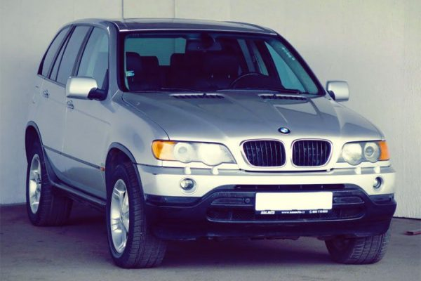 BMW E39 X5 E53 Comando Aria Condizionata Climatizzatore Controllo Tasto AUTO
