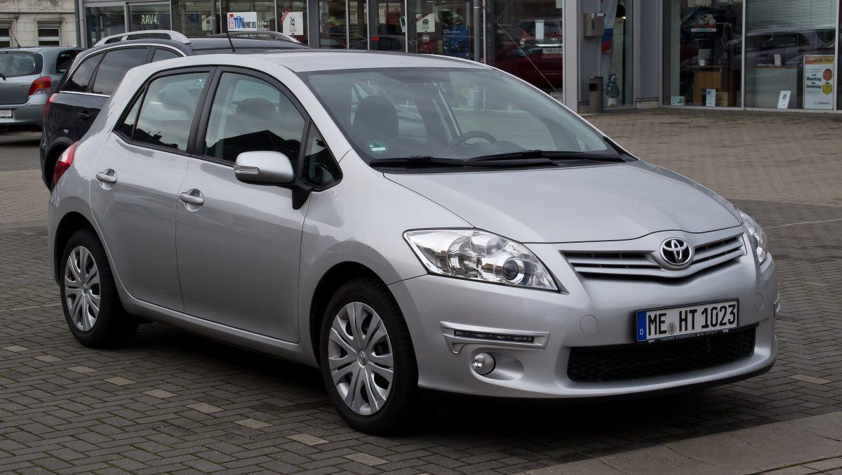 Toyota Auris Life Facelift Frontansicht 18 M 228 Rz 2012