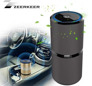 migliore ionizzatore purificatore auto zeerkeer