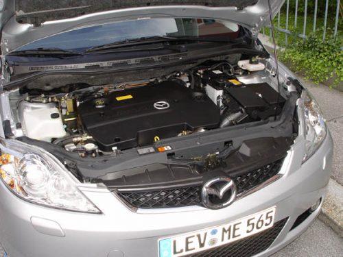 problemi dei motori benzina, gpl e diesel montati su Mazda 5 CR
