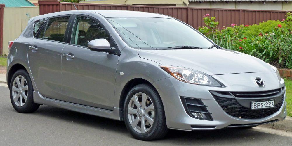 Dispositivi di protezione Posteriori per Mazda 3 BL Berlina Posteriore Acciaio per 09 />
