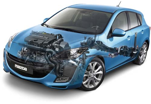 problemi dei motori benzina, gpl e diesel montati su Mazda 3 BL