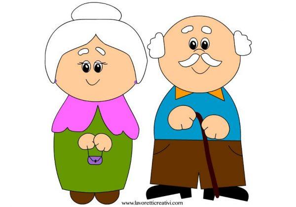 nonni felici non malati di coronavirus covid-19 2019-ncov
