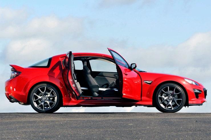le portiere della Mazda RX-8