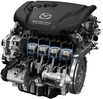 problemi dei motori benzina, gpl e diesel montati su Mazda 3 BM BN III