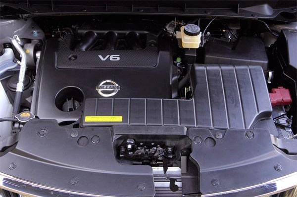 problemi dei motori benzina, gpl e diesel montati su Nissan Murano 2 II